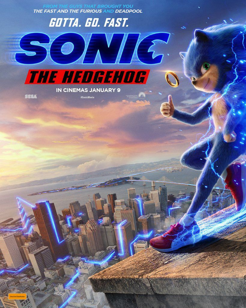Sonic The Hedgehog Posters Released