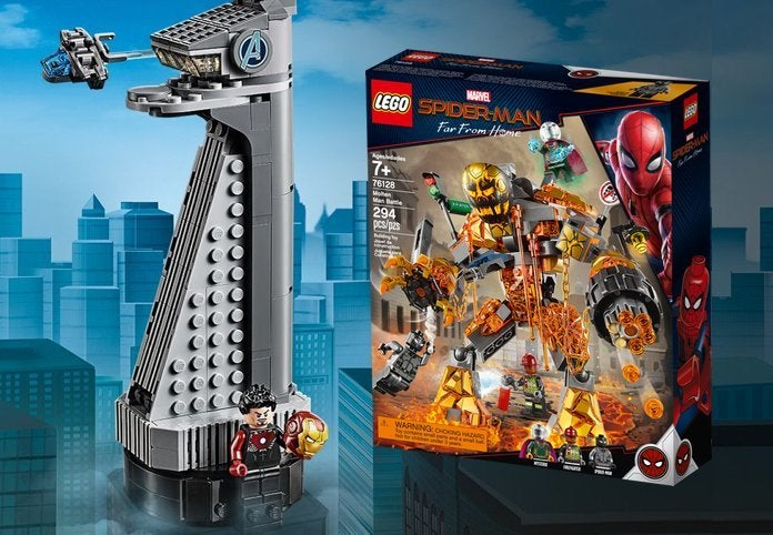 'Spider-Man: Far From Home' LEGO Sets Launch With Free Avengers Tower Offer