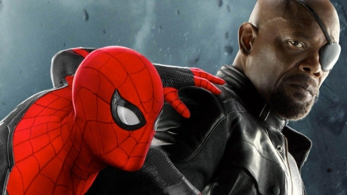 Spider-Man Far From Home Spider-Man Nick Fury ComicBookcom