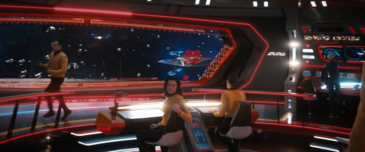 Star Trek Discovery Bridge of the Enterprise