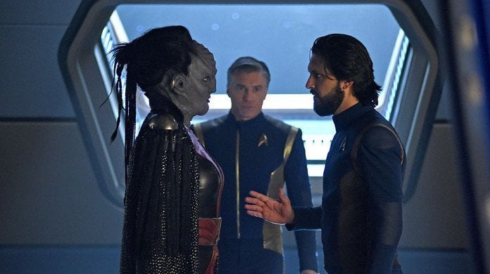 Star Trek Discovery Through the Valley of Shadows