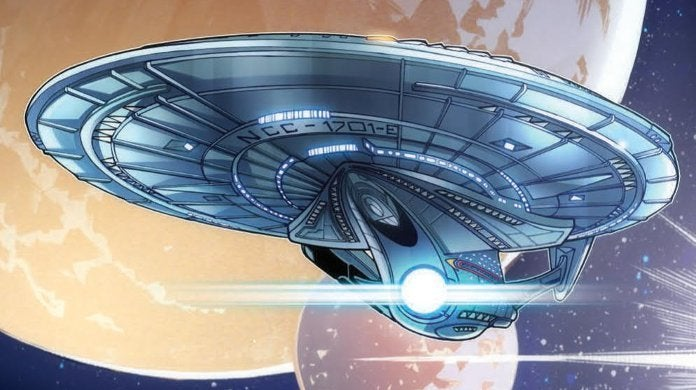 Star Trek The Q Conflict #3