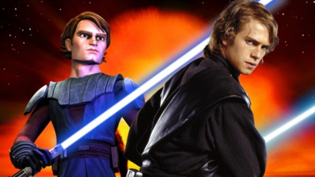 Star Wars Hayden Christensen And Matt Lanter Unite For Awesome Anakin Skywalker Photo
