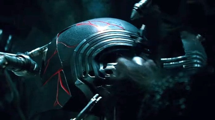 star wars episode 9 the rise of skywalker kylo ren helmet
