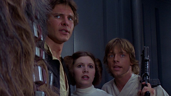 Star Wars Hamill Ford Fisher
