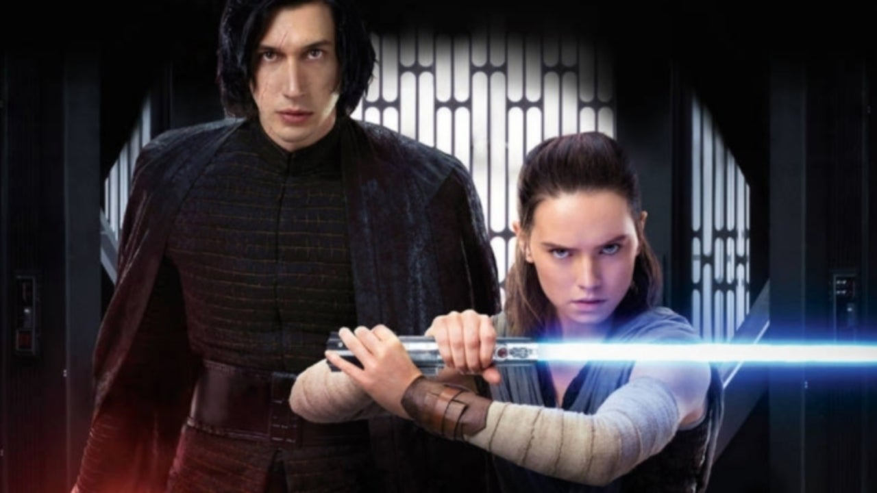 Rey and Kylo Ren Face Off in New Star Wars: The Rise of Skywalker Banner