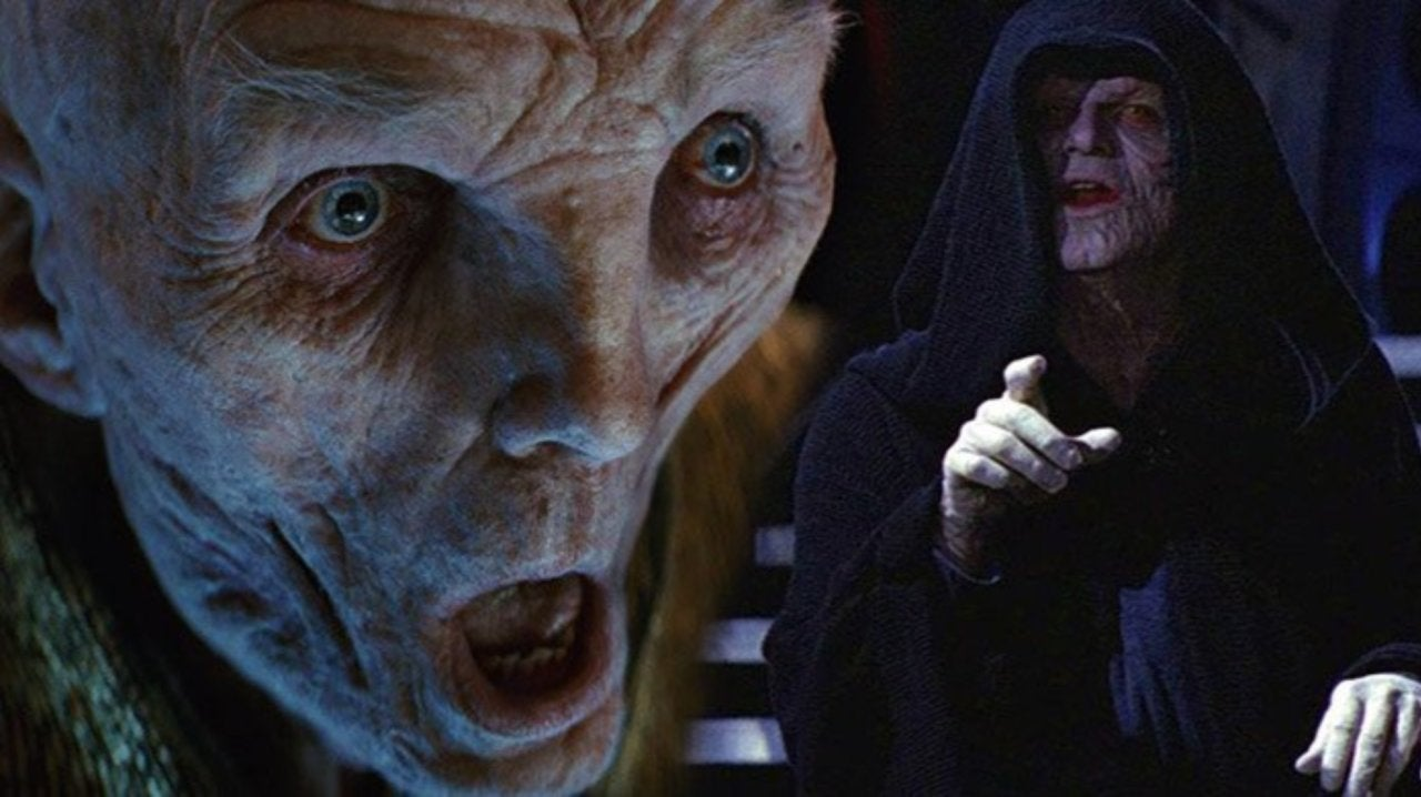 Star Wars: The Last Jedi Director Rian Johnson Draws More Comparisons Between Snoke and Palpatine