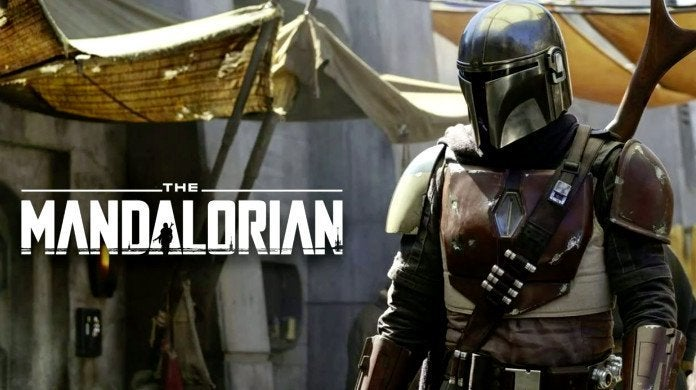 star wars the mandalorian logo