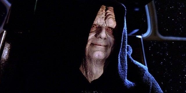Star Wars Villains Emperor Palpatine and Darth Vader Visit Children's Hospital