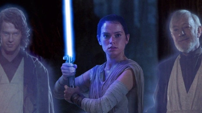 Star Wars The Rise of Skywalker Rey Anakin Obi Wan ComicBookcom