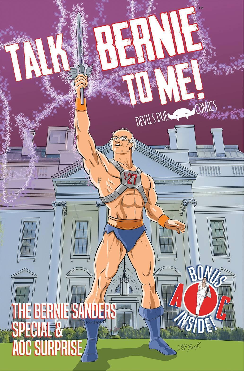 Bernie Sanders Becomes Superhero in New Comic Book