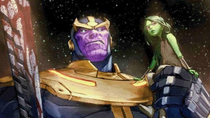 Thanos 1 Gamora