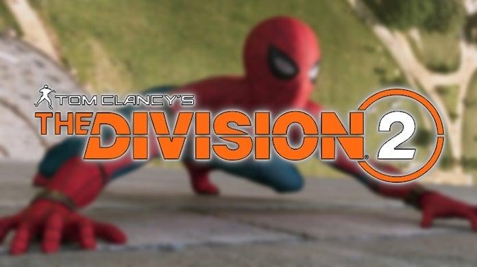 The Division 2 Marvel's Spider-Man Easter Egg