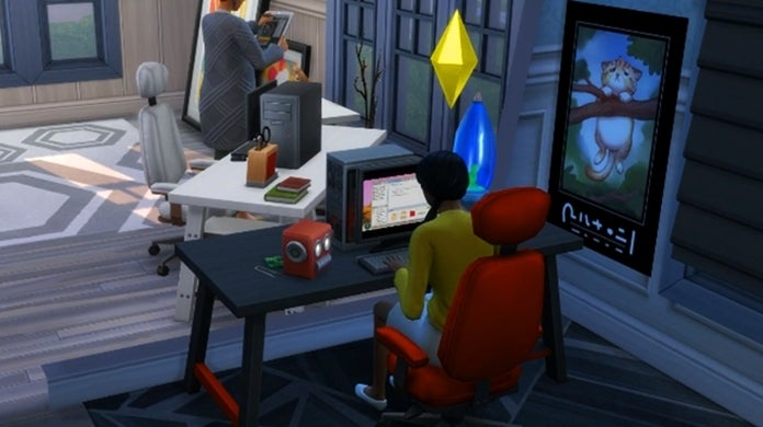 New 'The Sims 4' Update Allows Sims to Work From Home