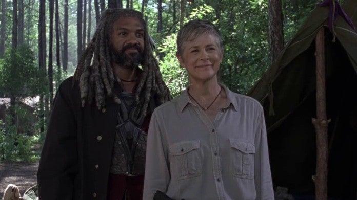 The Walking Dead Carol Ezekiel