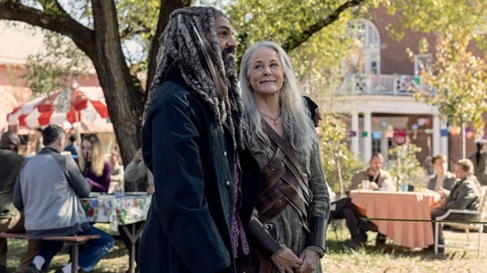 The Walking Dead Ezekiel Carol