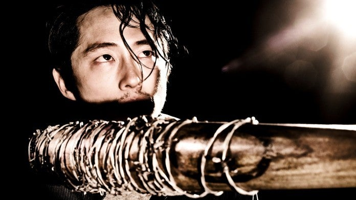 The Walking Dead Glenn Lucille Steven Yeun
