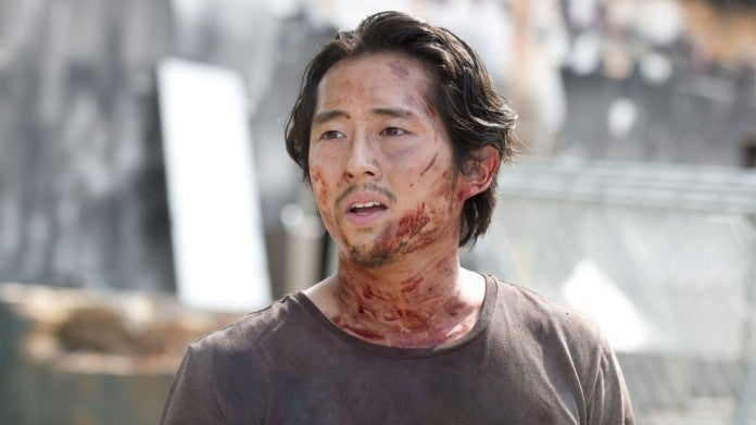 The Walking Dead Glenn Steven Yeun