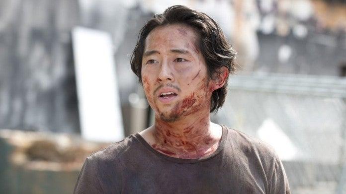 The Walking Dead Glenn Steven Yeun