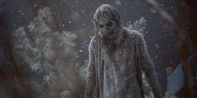The Walking Dead season 9 finale walker winter