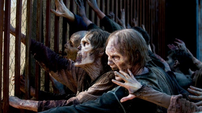 The Walking Dead walkers zombies