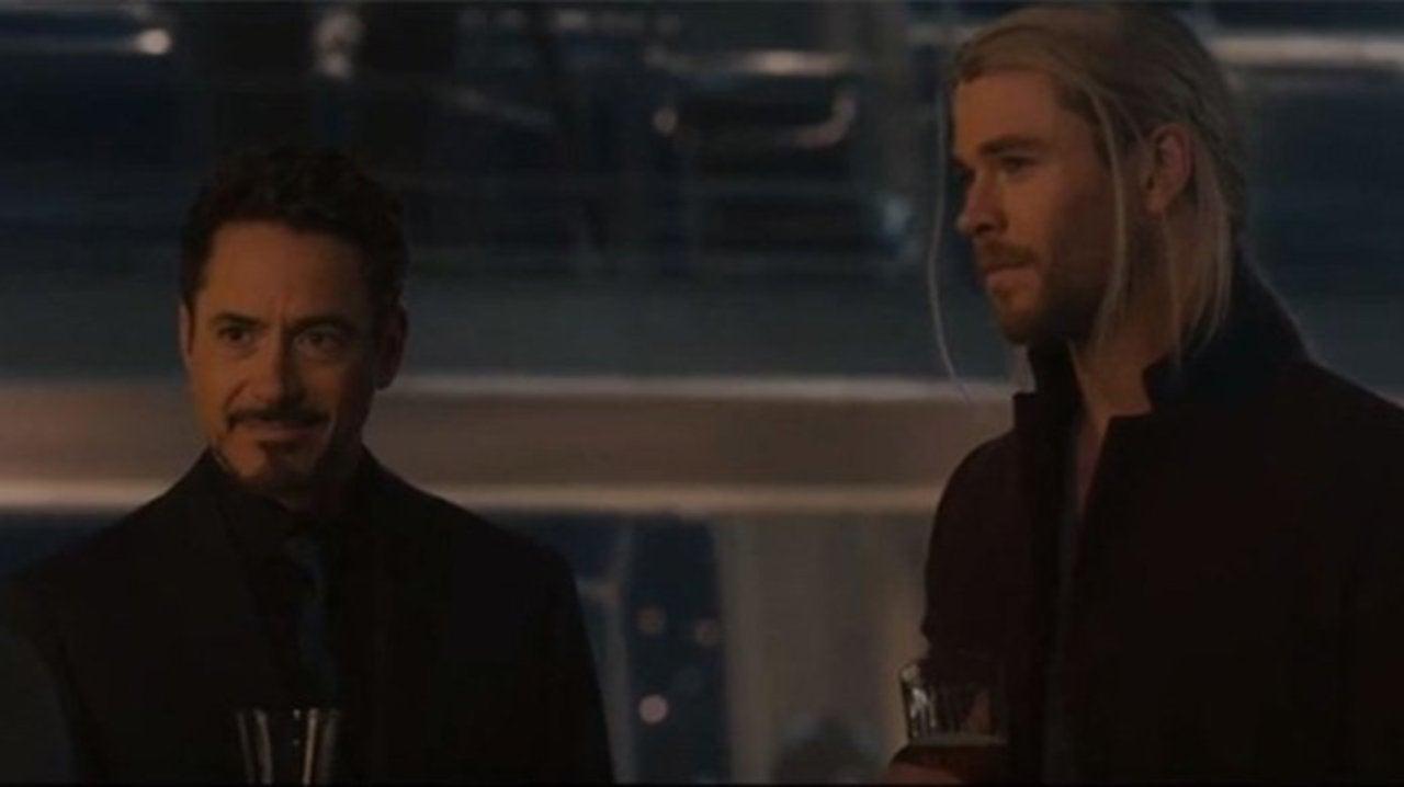 Chris Hemsworth Surprise Called Robert Downey Jr  at an
