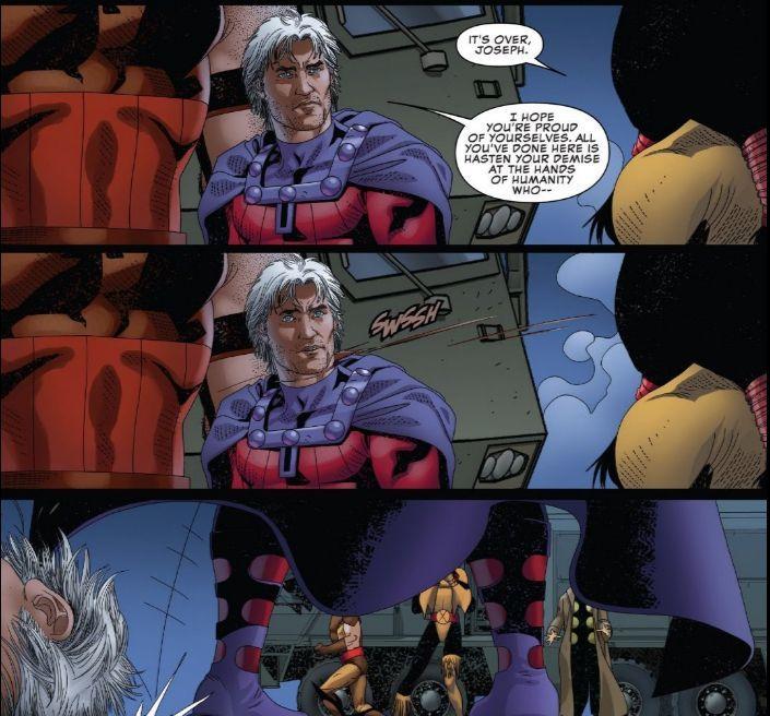 Uncanny X-Men Joseph Decapiated