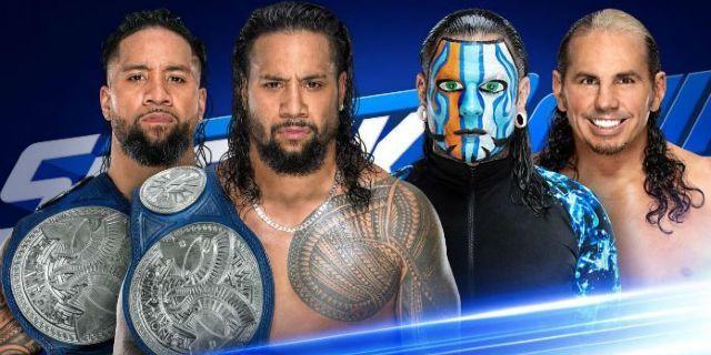Usos vs. Hardy Boyz Tag Title Match Announced for ... | 640 x 320 jpeg 48kB