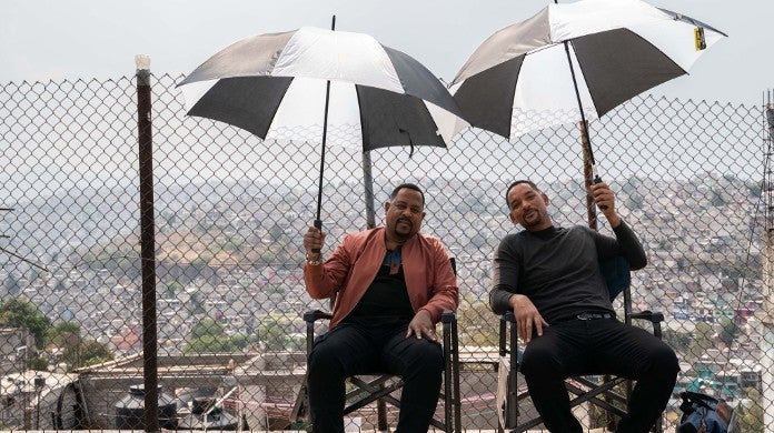 Will Smith Martin Lawrence Bad Boys 3 Filming Wrap Photo