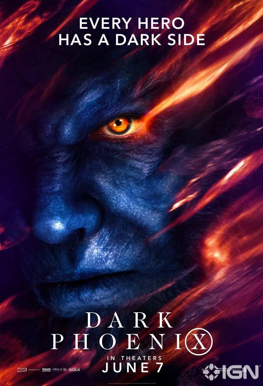 X-Men Dark Phoenix Movie Poster 01