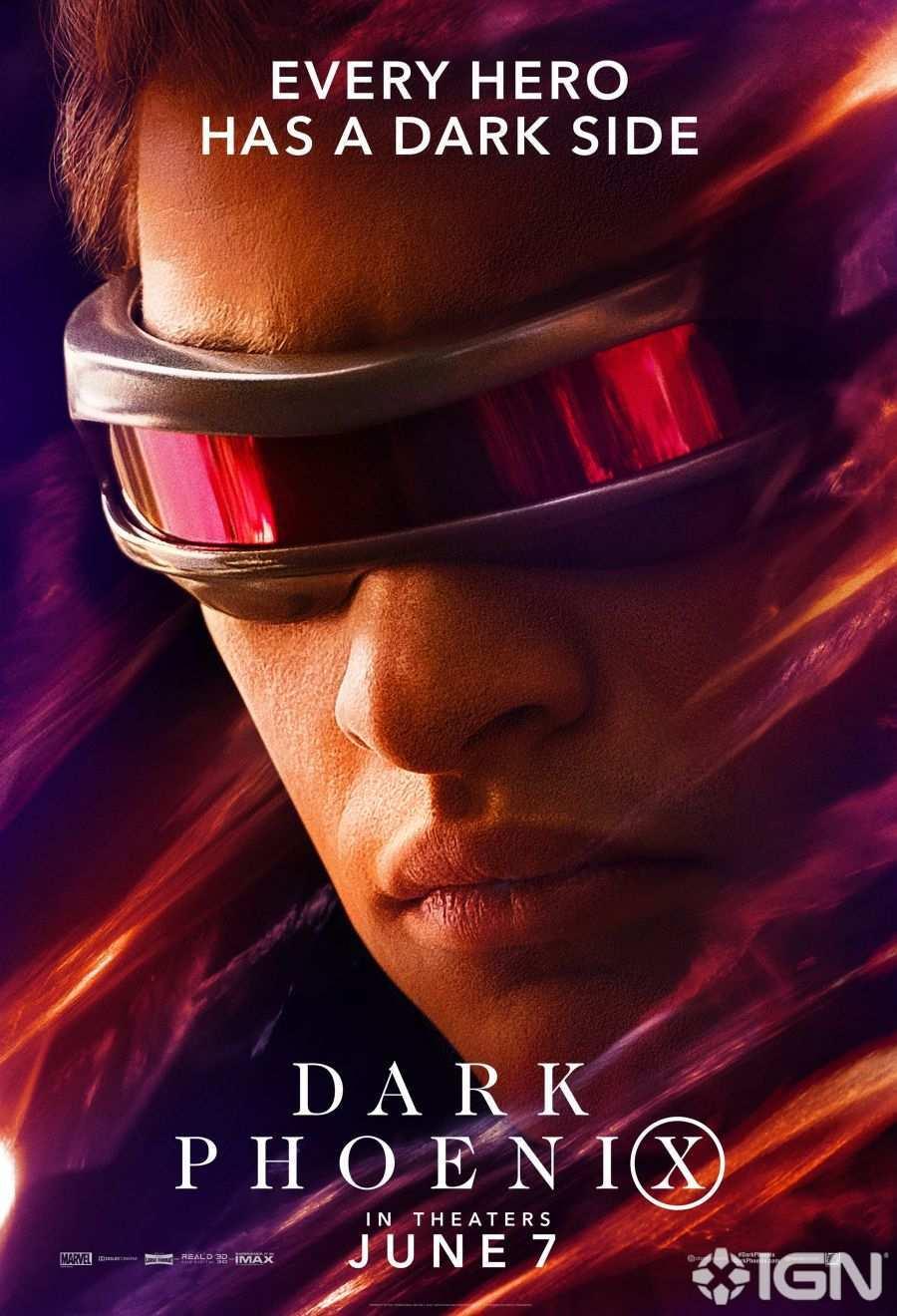 X-Men Dark Phoenix Movie Poster 02