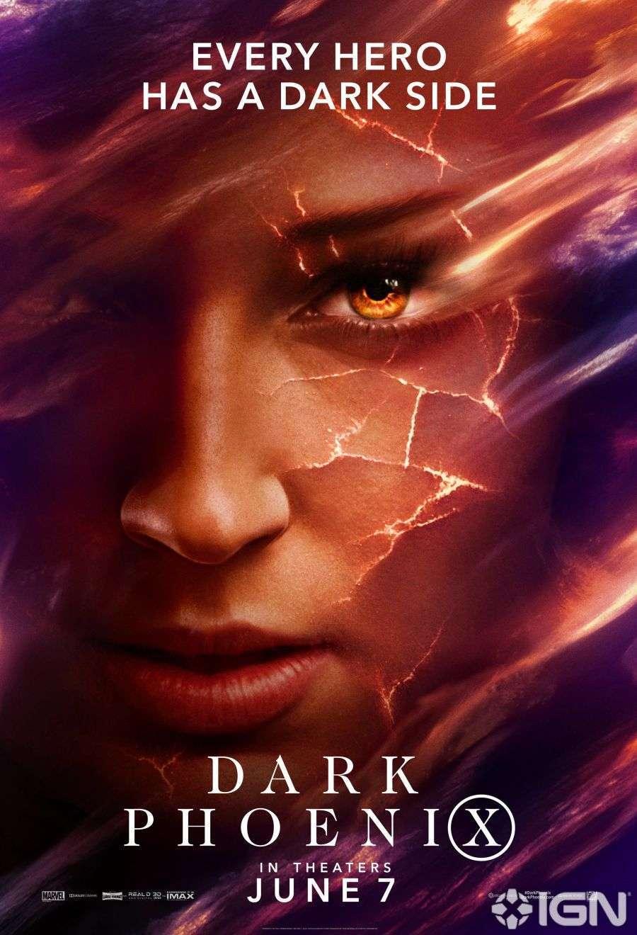 X-Men Dark Phoenix Movie Poster 03