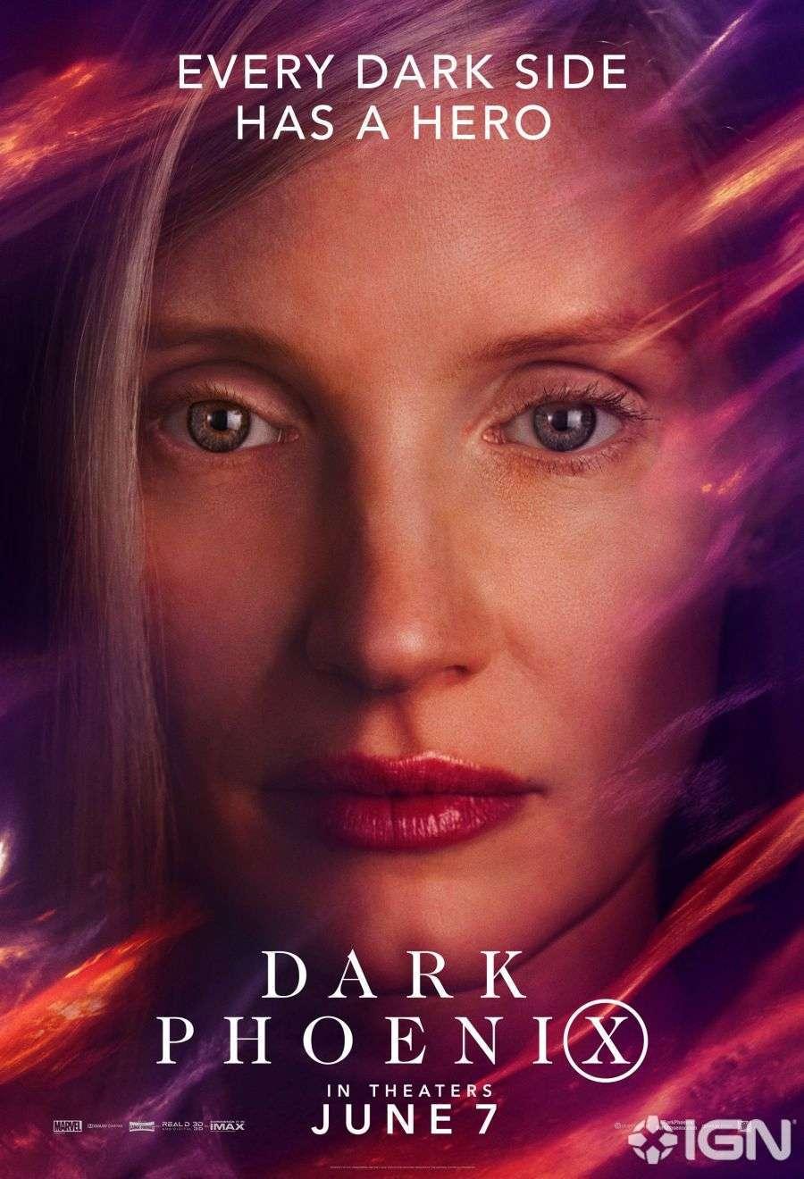 X-Men Dark Phoenix Movie Poster 04
