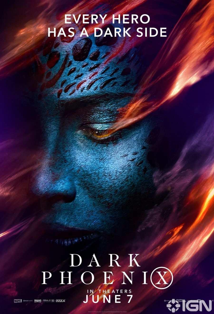 X-Men Dark Phoenix Movie Poster 06