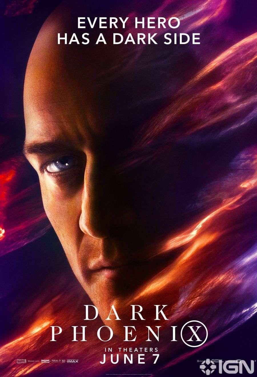 X-Men Dark Phoenix Movie Poster 08