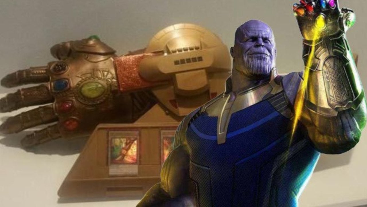 'Yu-Gi-Oh!' Fans Want To Snap Off With This Infinity Gauntlet Duel Disk