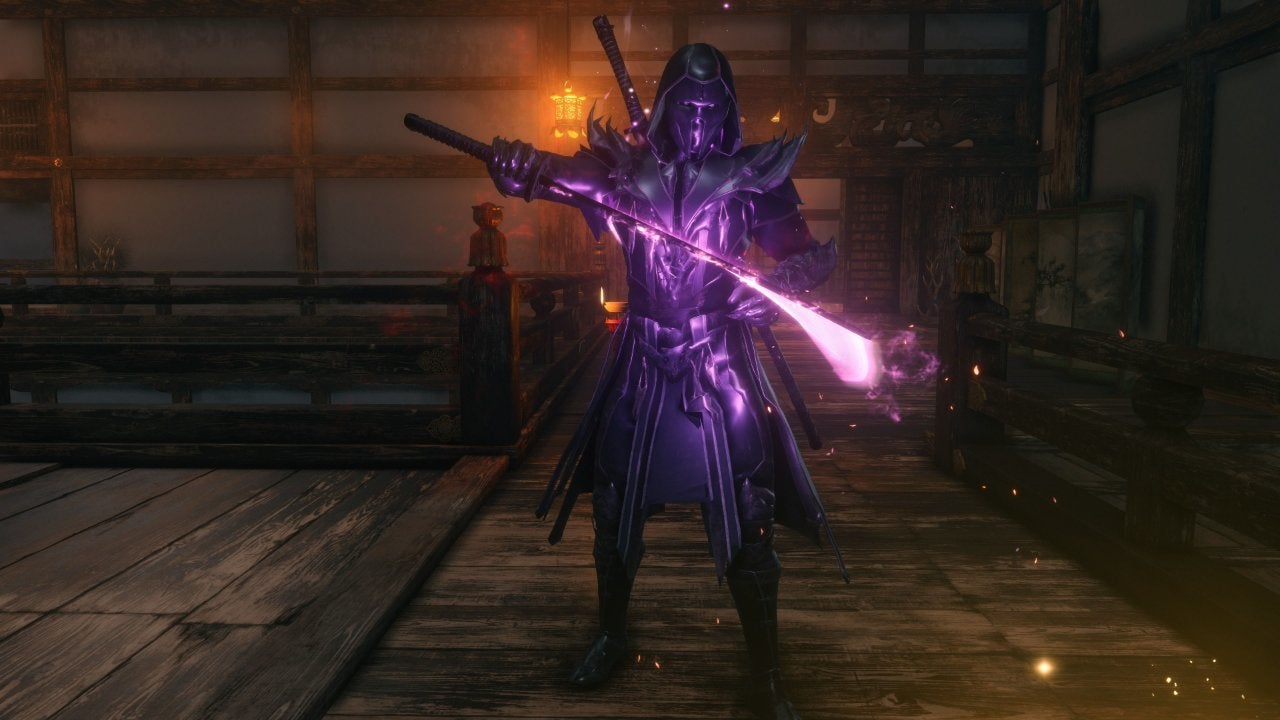 Mortal Kombat 11's Noob Saibot Invades Sekiro: Shadows Die
