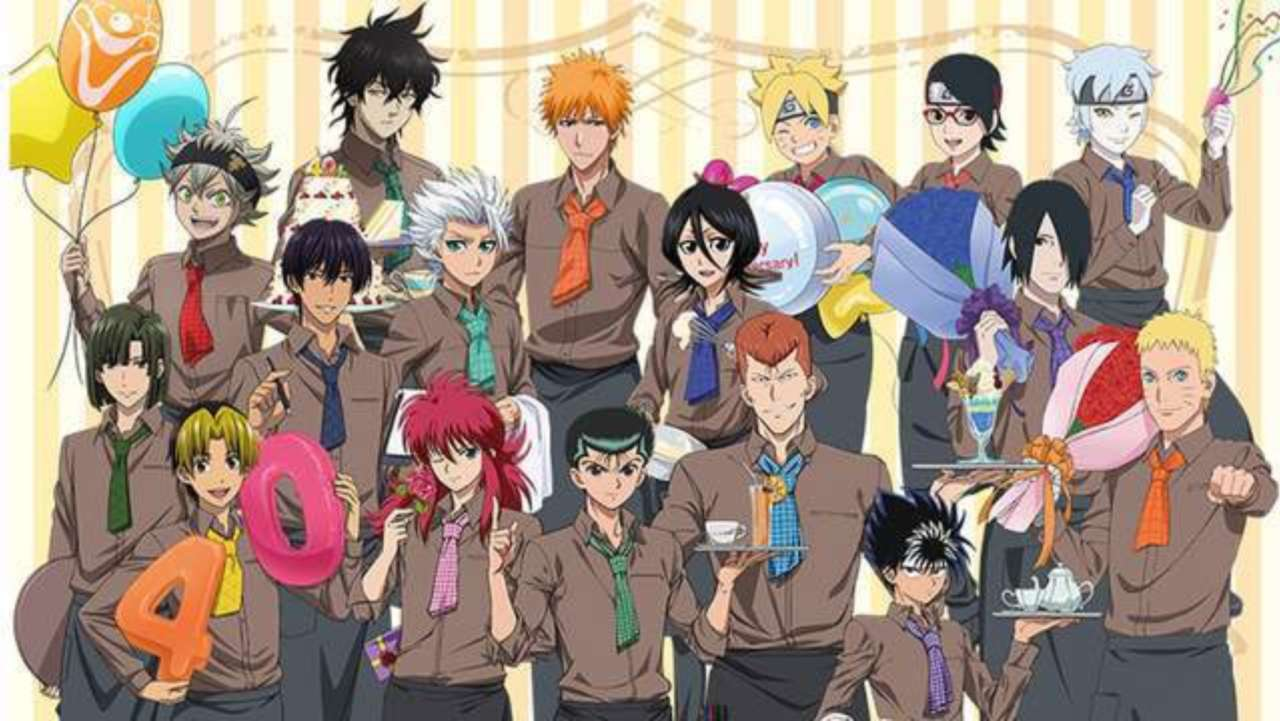 Bleach, Naruto, and More Reunite To Celebrate Studio Pierrot Anniversary