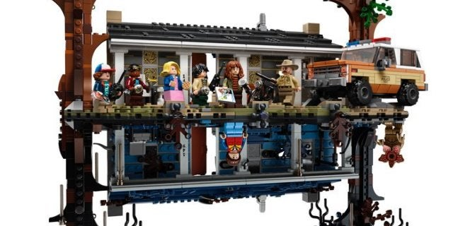 Stranger Things: The Upside Down LEGO Set Gets a Wide Release