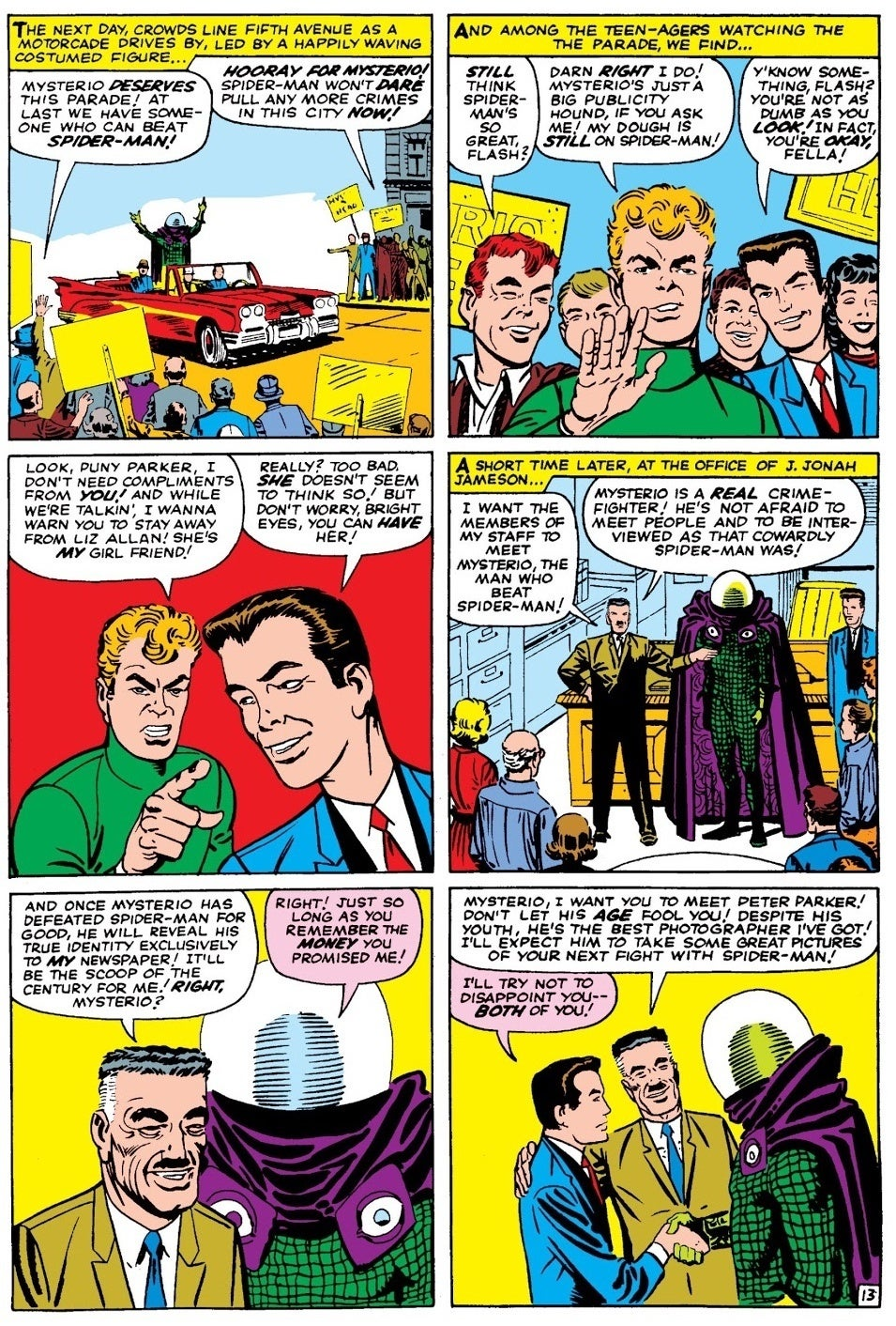 Amazing Spider-Man 13 Mysterio