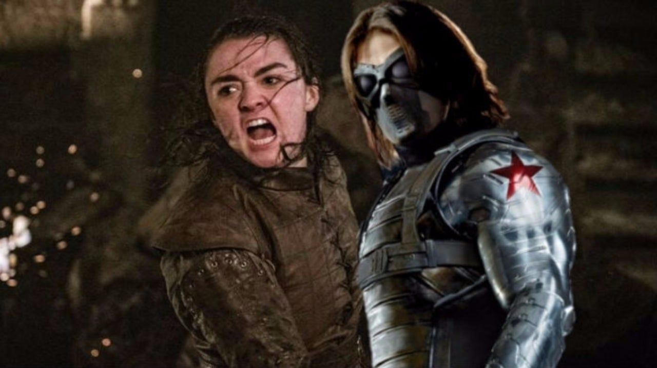 Here's What Game of Thrones Star Maisie Williams Could Look Like as the Winter Soldier
