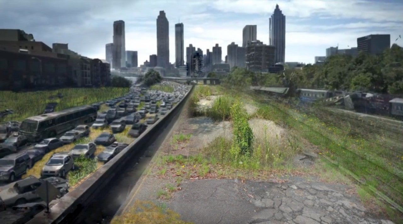 Iconic The Walking Dead Location Reimagined Years Later