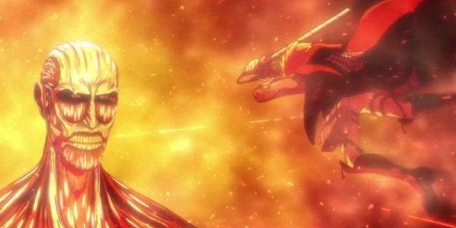 Attack on Titan Season 3 Armin Death Scene Colossus Titan