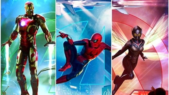 Avengers Disney Parks SpiderMan Iron Man Wasp