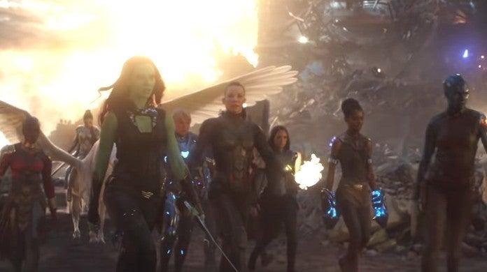avengers endgame a-force assemble