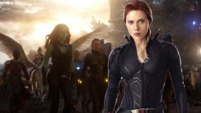Avengers Endgame A Force Black Widow
