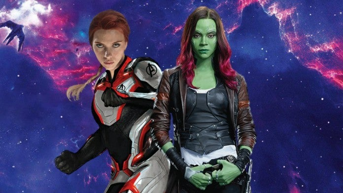 Avengers Endgame Black Widow Gamora