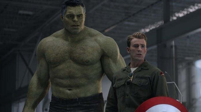 Avengers Endgame Captain America Hulk