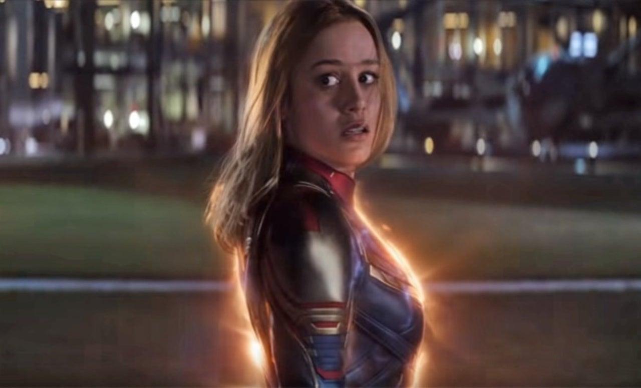 Captain Marvel's Avengers: Endgame Suit was Entirely CG