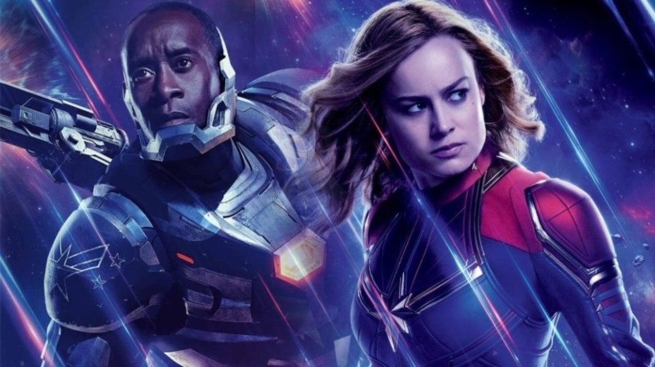 'Avengers: Endgame' Writers on War Machine and Captain Marvel Romance